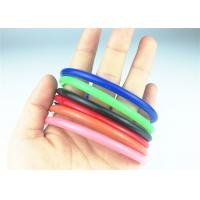 Colorful Oil Field Rubber O Ring Seals , Custom Rubber Rings High Temp Resistant Manufactures