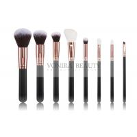 Quality Superior Gentle Mass Level Makeup Brushes , Eye Makeup Brush Kit Submissive Taklon Hair for sale