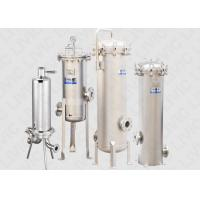 China Liquid Industrial Cartridge Filter Housing for Food / Beverage Filtration on sale