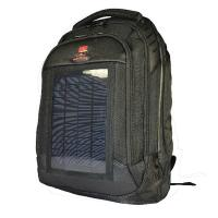 3.5W Solar Charging Backpack , Camping Backpack With Solar Phone Charger Manufactures
