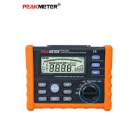 China High Voltage Digital Insulation Resistance Tester With DCV And ACV Detection on sale