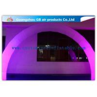 China Outdoor Arch Shape Inflatable Lighting Decoration Stage Lighting For Wedding / Party wholesale