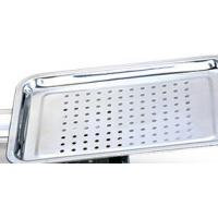 High Temperature Resistant Stainless Steel Mesh Tray / Food Punching Tray With Healthly Manufactures