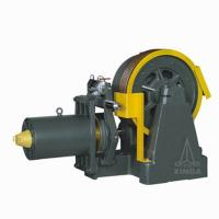 Geared Elevator Traction Machine , 2000-5000kg Rated Capacity , YJ336 Manufactures