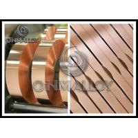0.005mm~1mm thickness,Power Transformers Pure Copper Strip Elongation Good Corrosion - Resistance,bright surface Manufactures