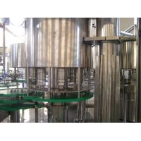 Rotary Aseptic Juice Filling Machine With Rinser And Sealer , CIP System