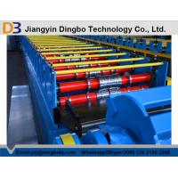 China 18.5kw Metal Decking Sheets Roll Forming Machine Used on High Buildings on sale