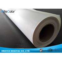 Microporous Glossy Poly Cotton Inkjet Printing Canvas Waterproof For Pigment Inks Manufactures