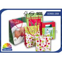 Christmas / Birthday / Festival Wrapping Paper Gift Bag with Customized Logo Printing Manufactures