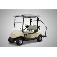 Pure Electric 2 Seater Electrical Golf Carts 4 Wheel With Solar Panel Roof 300w Manufactures