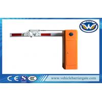 180 Degree Boom Car Park Barrier Gate , Electronic Vehicle Barrier Gates Manufactures