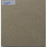 China K3200 Granule Quartz Countertop Slabs With One Pre Drilled Faucet Holes on sale
