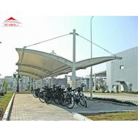Flame Retardant Movable Tensile Structure Car Garage Tent / Car Parking Shed Manufactures
