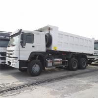 China ZZ3257N3447A Howo 6x4 371hp Heavy Duty Dump Truck With ZF Steering And HF9 Front Axle on sale
