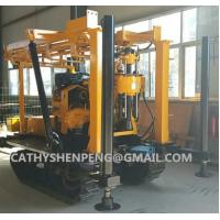 Quality 130 Crawler type Hydraulic Diamond Core Drilling Machine for mineral exploration for sale