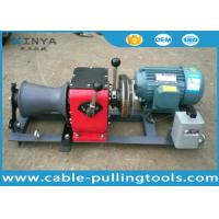 Small Portable Cable Winch Puller Machine Manufactures