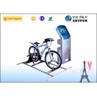 Leisure Sport 9D Virtual Reality Bike With 42 Inch Touch Screen / Virtual Cycling Simulator Manufactures