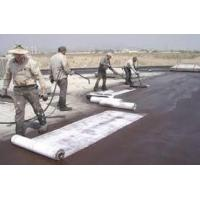 High Intensity Pet Geotextile , Weed Suppressant Fabric Membrane For Road Construction Manufactures