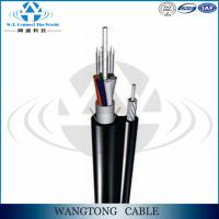 Loose tube stranded Figure 8 aerial g.652 d outdoor 24 core single mode fiber optic cable Manufactures