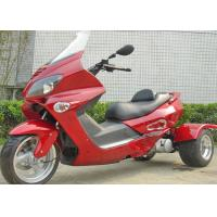 Electric Start 3 Wheel 150cc Scooter , 3 Wheel Bike Motorcycle With Windshield Manufactures