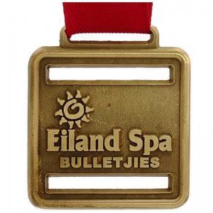 Stainless Steel Custom Metal Medal , Die Casting Engraved Sports Medals Manufactures