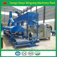 No any binder factory direct sale wood sawdust rice husk briquette BBQ charcoal making machine price Manufactures