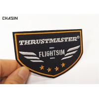 China Airline Uniform Clothing Embroidery Patches / Custom Embroidered Iron On Patches on sale