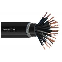 PVC Insulated PVC Sheathed Steel Wire Armored Control Cable WIth Flame Retardant Sheath Manufactures