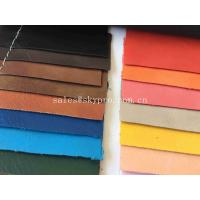 Environmental Protection PU Synthetic Leather Embossed PU Imitation Sheep Shrunk Grain Manufactures
