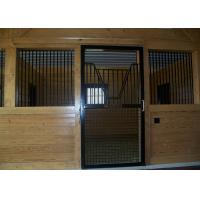Sliding Door Customized Wooden Horse Stable Bamboo Material Horse Stall Manufactures