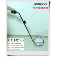 China Car Under Vehicle Search Mirror , 1.2m - 1.4m Rod Under Vehicle Inspection Mirror on sale