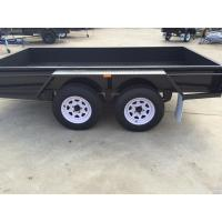 4500 KG Loading 10x6 Tandem Box Trailer Heavy Duty With Brake Manufactures
