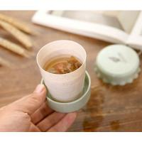 Buy cheap Outdoor Travel Portable Telescopic Cup Creative Folding Cup Magic Mountaineering Rinse Cup from wholesalers