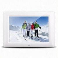 7-inch Rechargeable Digital Battery Frame, Supports Photos, Music, Videos, Super Auto Image Display Manufactures
