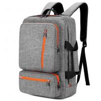 China 17 Inch Laptop Tote Bag Grey Color , Travel Laptop Backpack Computer Bag on sale