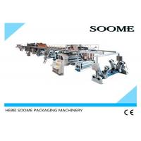 Automatic Corrugated Cardboard Production Line Corrugated Box Making Machine Fast Delivery Manufactures