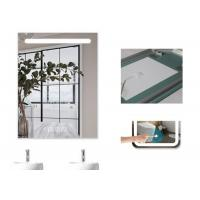 Dimmable Anti Fog Lighted Bathroom Vanity Wall Mirror With Demister 700 X 900mm Size Manufactures