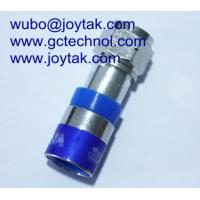 F Compression Connector coaxial connector For RG6U Coax Cable Internet Cable connector Manufactures