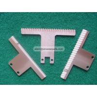 food industry plastic bag film cutting packaging machine serrated blade Manufactures