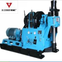 China Diamond Core Drill Rig Unique Gold Mining Core Sample Deep Drilling Rig 2600m on sale