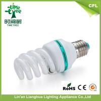Small Full Spiral Energy Saving Light Bulbs 5w 7w 9w T3 Kids Room Light With Tri - phosphor Coating Manufactures