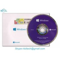 32 Bit / 64 Bit Windows 10 Pro COA Sticker OEM Retail Box For Operating System Manufactures