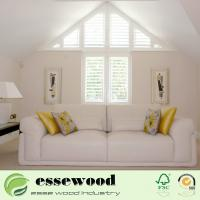 Plastic PVC Shaped Plantation Shutter for Interior Window Manufactures