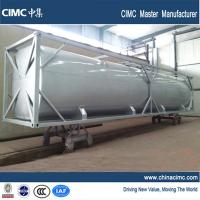CIMC 40 foot bulk tank container to carry diesel , cement , gasoline Manufactures
