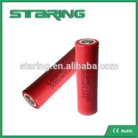 China supplier rechargeable  LGDBHE2 18650 2500mAh 3.7V battery  for compare batteries Manufactures