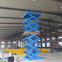 5T 6M Heavy Duty Stationary Hydraulic Scissor Lift Warehouse Cargo Lift With CE Manufactures