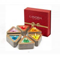 Colored Scented Jar Candle With Packaging Boxes Home Decoration Customized Logo Manufactures