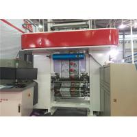 High Precision Gravure Printing Machine , Roto Printing Press Water Based Ink Printed Manufactures