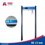 Commercial Building Metal Detector Door Frame With 6 / 18 Alarm Zone Manufactures