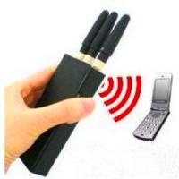 China Portable 2G 3G Mobile Phone Signal Jammer / Breaker / Isolator EST-808HB on sale